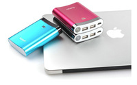 5pcs 10400mAh universal USB External Backup Battery Power Bank for apple iPhone galaxy s4 note 2 mobile Phone Mobile power
