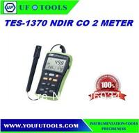 HOT SALE Digital Handheld NDIR carbon dioxide Meter (RH+TEMP)   TES-1370