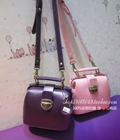 Fashion mini vintage messenger bag cowhide genuine leather handbag women's doctors bag vintage small bag