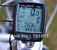 2013 Cycling Bike Bicycle Cycle Computer Odometer Speedometer Waterproof Black