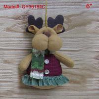 "6"" Xmas Ornament Christmas Tree Ornament Santa Decorations Gifts Reindeer Design Handmade FREESHIPPING"