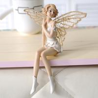 Free Shipping Fashion resin home decoration aesthetic shelf decoration doll 8400
