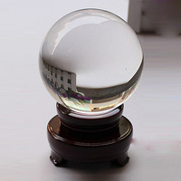 Free Shipping 8-30cm crystal ball crystal crafts home decoration commercial lucky feng shui ball