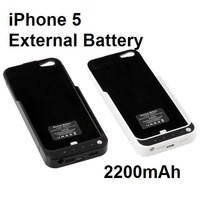 2200mAh External Battery Backup Charger Case Pack Stand For i5 5G