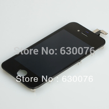 Free Shipping For iPhone 4g LCD Display+ Touch Screen Glass Digitizer Complete Assembly Black
