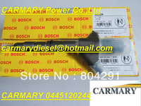 Brand New common rail injector 0445120244, 0445120150 for WEICHAI WP6 13024966 /0445 120 244 / 0 445 120 244