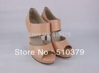 women shoes genuine leather high heel sandals platform pumps sexy high heels brand summer shoes