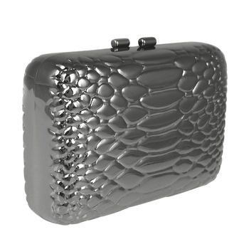 Banquet Party Hard Case Snake Pattern Embossed Luxury Women style   Free Shipping
