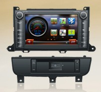wholesale toyota 2012 Sienna DVD GPS ARM11 WinCE OS;2 DIN WVGA TFT LCD;Touch screen;Steering Wheel Control;(China (Mainland))