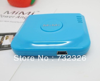 30pcs/lot wholesale 2000Mah Colorful Extended Battery Charger For iphone 4S 4 3GS 3G ipod touch retail MIMI Power Angle