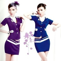 E 2012 stewardess service ktv sauna technicalness service loaded ol stewardess work wear