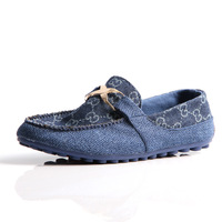 Summer fashion breathable linen cotton-made shoes the trend of low Moccasins boat shoes casual shoes  size40-44
