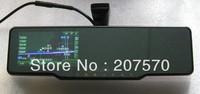 4.3 Inch Bluetooth AV IN FM 4GB free Map car rearview mirror gps wireless camera