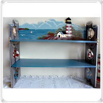 Wool cutout decoration small bookcase