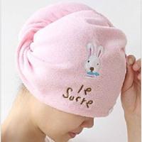 Bath cap elastic water dry hair cap (fold long) Magic Hair Dry Drying Wrap Towel/Hat/Cap Quick Dry Dryer Bath superfine fibre