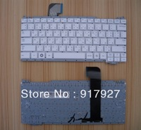 Arabic laptop keyboard compatible  SAMSUNG NC110 with white