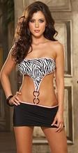 wholesale zebra print lingerie