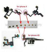 Hot Newest Original micro Spring piece Terminal For iPhone 4S 4 Power sleep button Light sensor headphone audio Jack Flex Cable