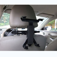 Multi-Direction Car Mount Headrest Holder universal Clip Bracket For iPad Tablet PC GPS Free Shipping Drop Shipping Wholesale