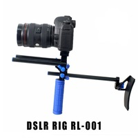 Camera Rig Set Shoulder Support Kit Follow Focus for DSLR EOS 60D 1D 1/4'' 5D II(DSLR RIG RL-001)