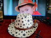 Cowboy style Children's hat  Fashion POP  hot selling Caps Cool