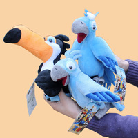 Rio Adventure 3pcs/lot pp cotton plush toy doll bird Children's Day Gifts Girls couple birthday gifts Free shipping