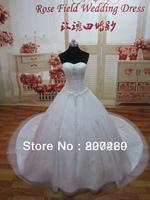 2014 Stunning Bubble Sweeteart Emboridery Gorgeous Crystal Wedding Dresses SL-9000