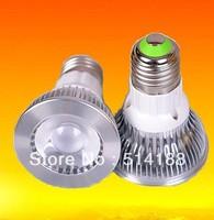 Environmental 10pcs/lot Par20 Led Lamp E27/GU10 Spotlight Par 20 8w Dimmable Led Lighting warm/cool/white  Dropping Shipping