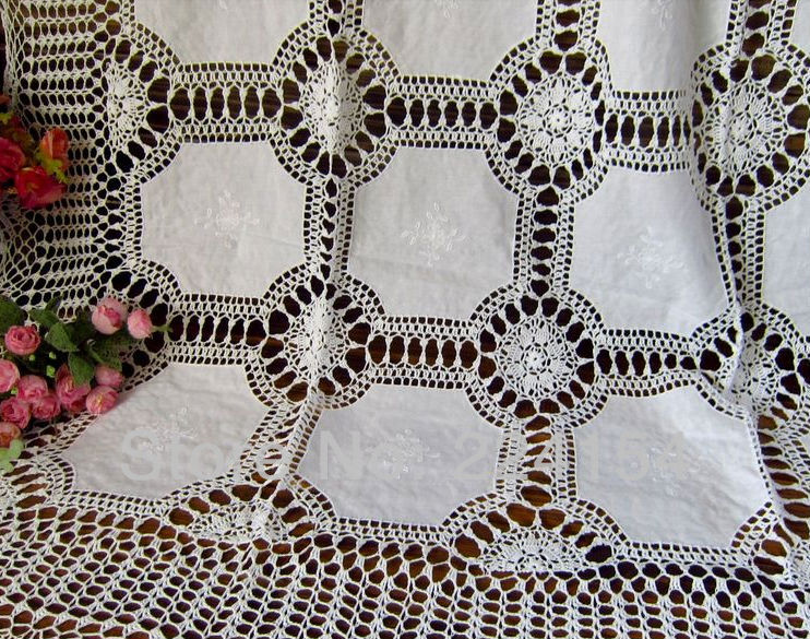 Crochet Oblong Tablecloth Shop G 252 Nstige Crochet Oblong