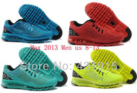 Free Shipping 2013 Maxs Men NEW hot Top Quality Running shoes for sale Cheap Aires Famous fire red green orange black 41-46