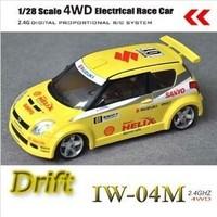 1/28 scale Firelap IW04M 4WD electric RC hobby (SUZUKI SWIFT)