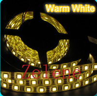 Whole sales water proof LED strip 5M 3528 60 LEDs/1m DC 12V 20W Red/Yellow/Blue/Green/White/Warm White