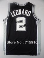 San Antonio # 2 Leonard and # 4 Green basketball jersey and free shipping