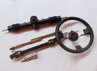 Four wheel motorcycle atv refires accessories 150 steering wheel steering knuckle trolley
