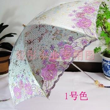 Ocean 2013 13255b embroidered umbrella embroidery umbrella super sun protection sun umbrella anti-uv umbrella