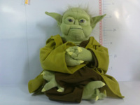 Free Shipping big size Star Wars yoda the soft gift new year the children baby toy birthday gift Christmas gift kids Hot Selling