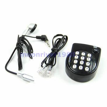 A31 Black Mini Handsfree Home Corded Telephone Phone Head With Microphone Headset Hot Selling
