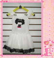 Afro suspender skirt