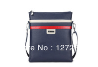 High-grade First Layer Of Cow Leather Men Business Bags 2013 New Fashion Messenger Bag Casual Multifunction bags WB0076