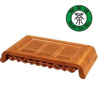 "Bamboo Chinese Gongfu Tea Table Serving Tray 16""*8"" TP060"