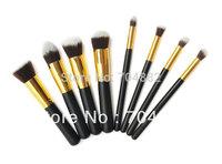 Free Shipping hot 8pcs professional makeup brush foundation makeup tool kit cosmetic brush
