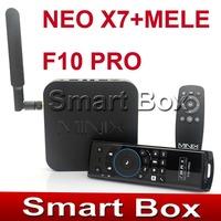 MINIX NEO X7 Quad core RK3188 2G 16G TV BOX set top box mini pc Android 4.2 rk3188 + MELE F10 PRO FLY AIRMOUSE