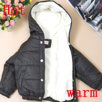 New arrival Winter warmer 2013 Outerwear Coats for boys jacket hoodies boy children sport clothing coats 4pcs/lot