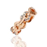 Hot Sale, 18K Gold Plated Ring Nickel K Golden Plating Platinum Rhinestone Austrian Crystal, Factory Price