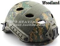 Fast pararescue jump pj tactical helmet jungle digital Woodland Camouflage