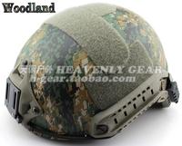 Fast tactical helmet ballistic helmet jungle digital Camouflage