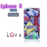 Wholesale hard cases design proctective cover /Supreme/Durex Condoms case For iphone 5 5G,free shipping MOQ:10pcs