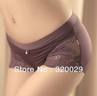 2013 wholesale Super soft sexy lace underwear ,Carry buttock women's panties free shipping