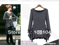 Free shipping,Special fashion sexy, long sleeved knit garment l exclusive custom in Europe  States  of the original model(85002)