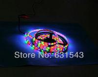 hot Free Shipping rgb 3528 led strip 300LED 5M RGB +24 key IR Remote,waterproof led strip